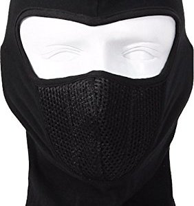 Autofy Full Face Mask for Bike Riders with Air Net (Black, Freesize) 22  Autofy Full Face Mask for Bike Riders with Air Net (Black, Freesize) 41tdZo9XGgL