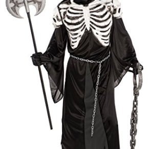 Disfraces de Halloween - - Amscan - 840.285 hasta 55 Hombres - The Guardian De La Cripta - Tamaño M/L