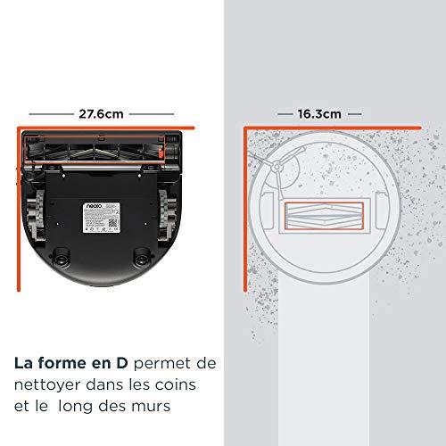41tfWX9%2B%2BDL [Bon Plan Neato] Neato Robotics D701 Connected - Compatible avec Alexa - Robot aspirateur avec station de charge, Wi-Fi & App