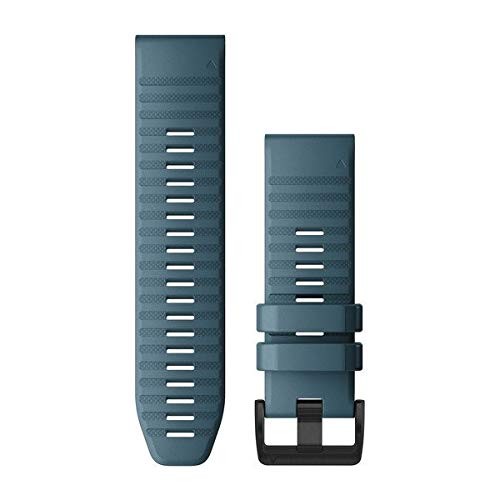 Garmin QuickFit 26 - Cinturino per orologio da polso, in silicone, colore: Blu lakeside