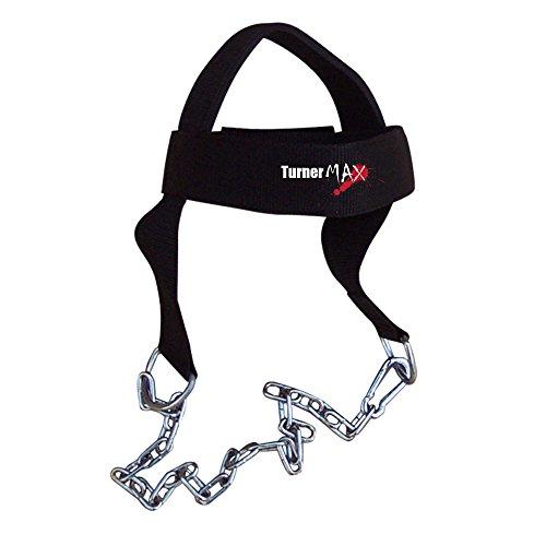 Arnés para ejercitar el cuello (algodón, con cadenas)