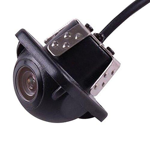 Gtkc, telecamera di supporto per auto, vista anteriore, posteriore e laterale, per retromarcia e parcheggio, 100% impermeabile, CCD
