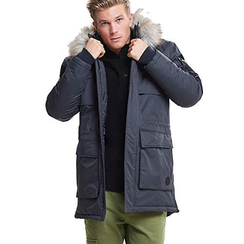 Only & Sons Occasioni Sons Waterproof Parka Coat 22010876 Blu XXL