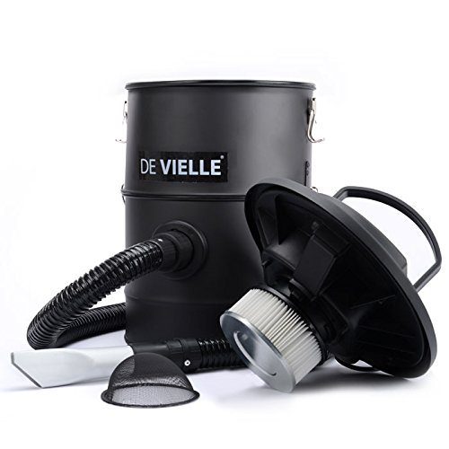 De Vielle Ash Vacuum Cleaner - Overall the model is probably one of the best ash vacuums currently available and its hard to find any issues to highlight, the filter system is excellent, its well build, it has a good length of hose, would perhaps of been nice to see some caster wheels for better mobility but being that its so light weight, that should even be an issue for most people. If you looking for superior model which is well designed, this is well worth considering and would be our first recommend to anyone looking for a good ash vacuum.