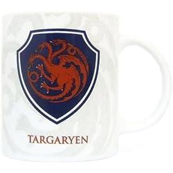 SD Toys SDTHBO02091 - Game Of Thrones, escudo Targaryen, taza de cerámica (SDTHBO02091) - Taza Escudo Targaryen