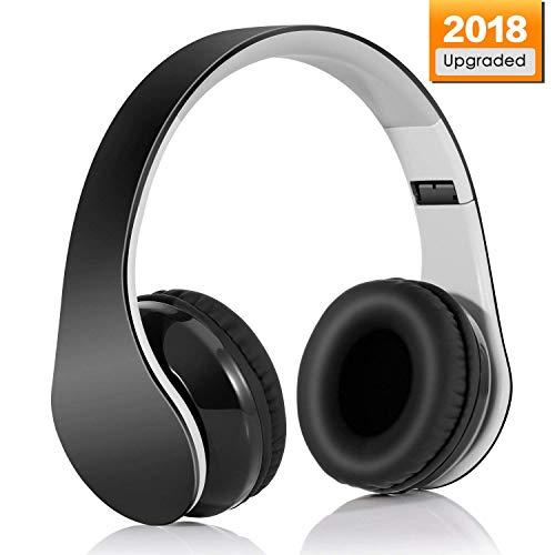 Auriculares-Inalmbrico-Diadema-Bluetooth-41-Plegable-Hi-Fi-Estreo-Con-35-mm-Audio-Jack-Con-Micro-Para-Smartphone-Y-TabletaNegro