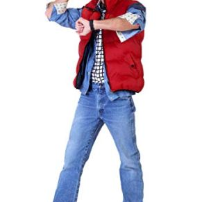 Back to The Future Marty Mcfly Fancy Dress Costume X-Small
