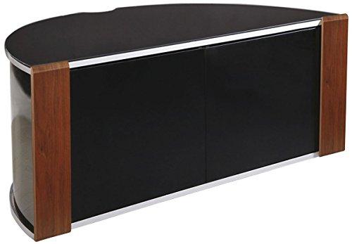 MDA Designs Sirius 850angolare per TV in Noce e Nero