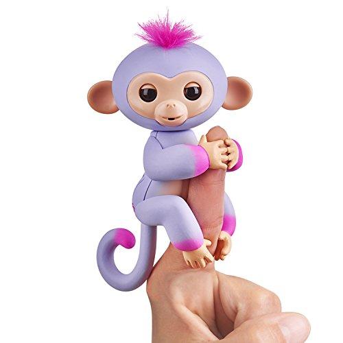 Wow Wee Fingerlings Two Tone-Sydney Juguete interactivos - Juguetes interactivos (Rosa, Púrpura, Metal, De plástico, Animal, Mono, 5 año(s), Niño/niña)