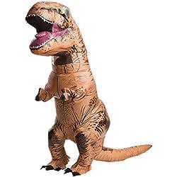 Jurassic World - Disfraz hinchable para hombre de T-Rex