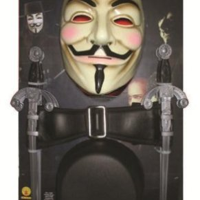 Rubies V pour Vendetta I-17161 - Disfraz de V de Vendetta