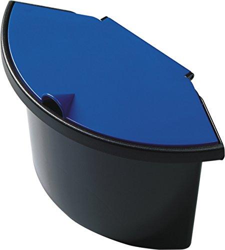 """Helit H6106093 - Abfalleinsatz \""""the collector\"""" 2L, schwarz / blau"""