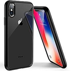 Kaufen Syncwire UltraRock iPhone X Hülle iPhone X Schutzhülle mit fortschrittlichen Fall- Schutz und Luftkissen Safeguard Technologie für Apple iPhone X/10 (2017) - Matt Schwarz