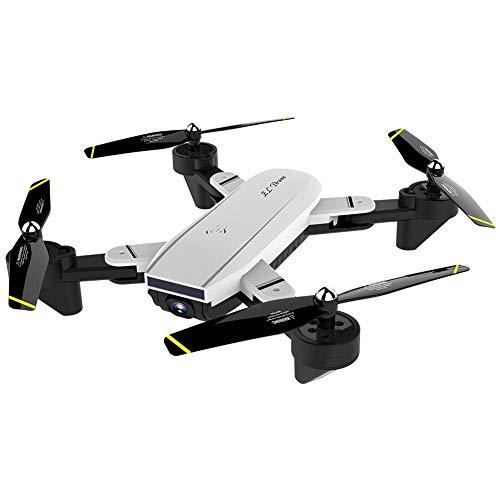 hifuture Drone con Optical Flow 1080p Dual Camera HD Drone RC Pieghevole, Trasmissione di Immagini e...