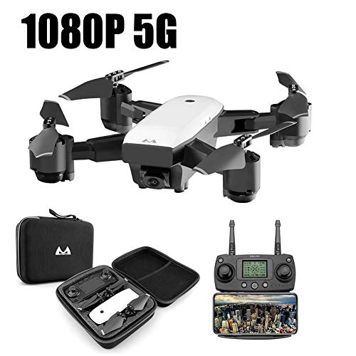 RC Drone Quadcopter, RC Quadricottero 2.4 GHz 1080 P 120 ° Wide Angle HD 6 Axis Elicottero...