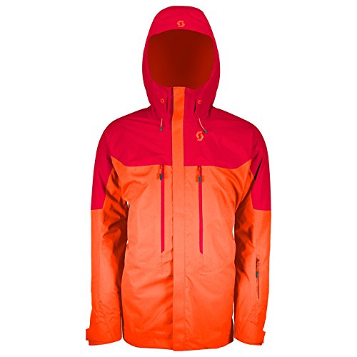 SCOTT Jacket VERTIC 2L Isolato, Uomo, Royal Red/Moroccan Red, M
