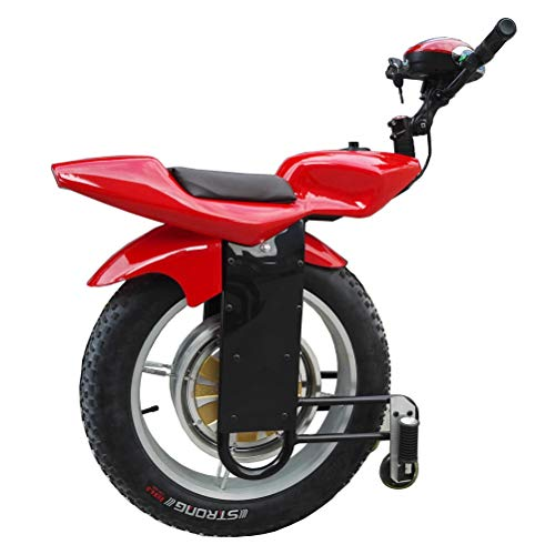 Lhcar Moto Elettrico Singolo a Ruote 1000W 20 Pollici Smart Auto-bilanciamento Scooter Elettrico Monociclo con Audio Bluetooth e Ruota di Formazione