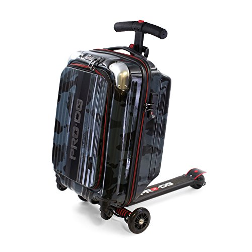 PRODG PRODG Scooter Pocket Blackage Porta abiti, 55 cm, Nero (Black)