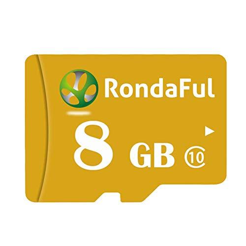 happygirr Scheda di Memoria SDXC da 8 GB Rondaful PRO Fino a 170 MB/s 4K UHD per Tablet e Smartphone...
