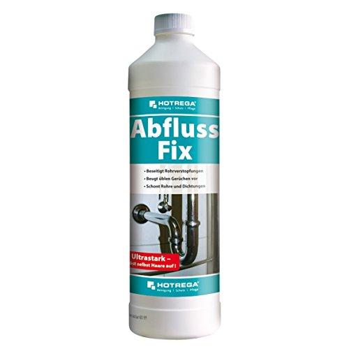 HOTREGA H160405001 Abfluss Fix, Abfluss-Reiniger zur Beseitigung hartnäckigster Rohrverstopfungen