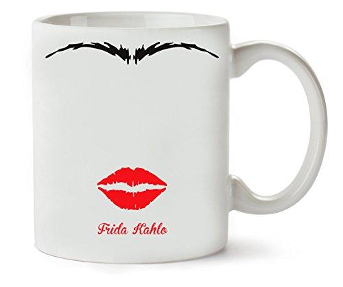 1GD Frida Kahlo Character Taza para Café Y Té