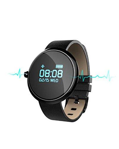 Smart Watch Wasserdicht Schrittzähler Herzfrequenz Blutdruck Männer Und Frauen Schlaf Bewegung ältere Uhr,Black