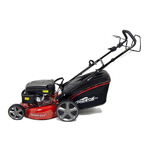 With a 20-inch cutting width, there's no doubt that this mower is specially made for large gardens as it covers a wider area in each pass.