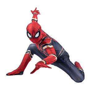 SPIDERMANHTT Spiderman Niño Adulto Cosplay Disfraz Vengadores Hierro Disfraces Ropa de fiesta Leotardo Película…