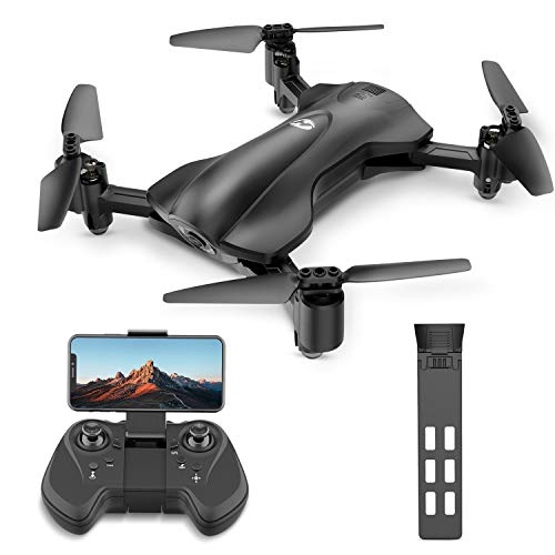 Holy Stone HS165 Faltbare Drohne mit Kamera HD 5G 1080P, Quadrocopter, Helikopter Ferngesteuert mit 90° Weitwinkelobjektiv, GPS Navigation, Tap Fly, Circle Fly, Live Video, Ideal für Kinder, Anfänger