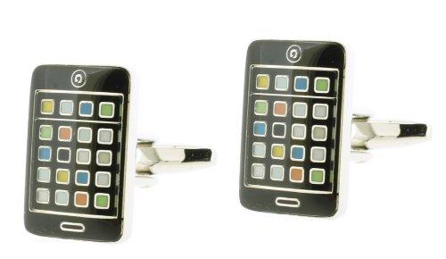 Code Red Herren-Manschettenknöpfe Smartphone