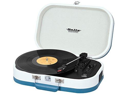 Trevi TT 1020 BT Giradischi Stereo Vintage Portatile con Bluetooth, Mp3, USB e Funzione Encoding,...