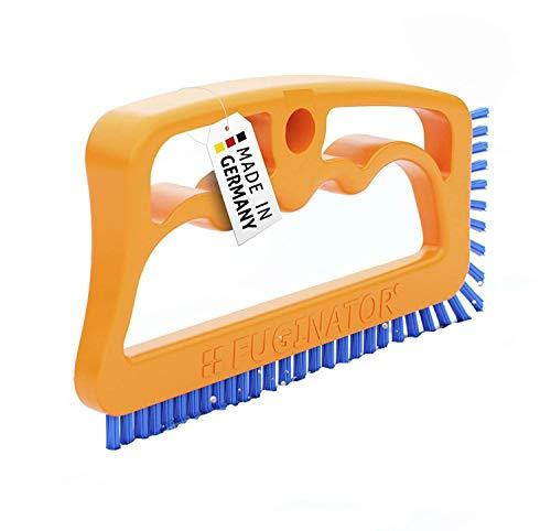 Fuginator Spazzola per Fessure - Arancione/Blu - Universale per Bagno, Cucina e casa