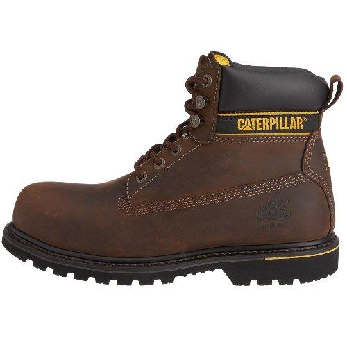 Caterpillar - Holton Sb - Bottes de Sécurité - homme Marron (Chocolate) 46 EU 27