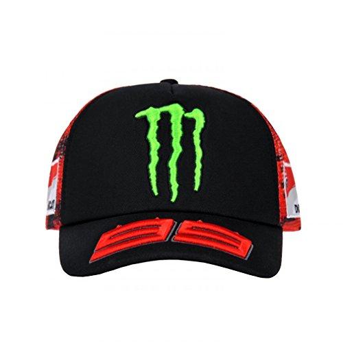 Gorra motogp Jorge Lorenzo 99 Moto GP Monster Energy Oficial 2018