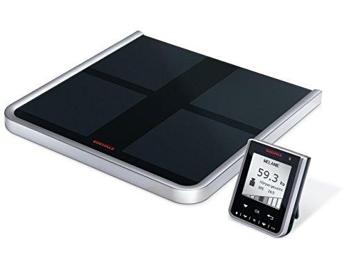 Soehnle 63760 BODY Balance Comfort Select - Báscula de baño, color negro