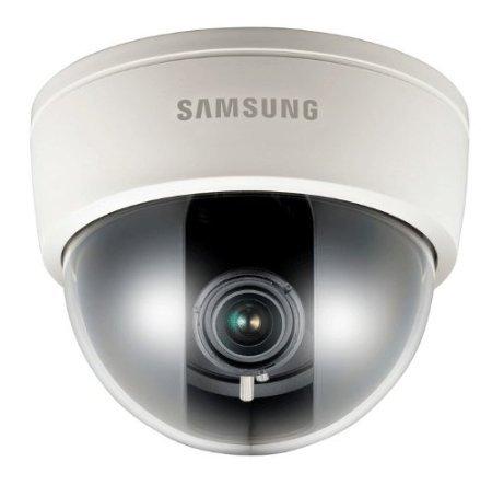 Samsung, SS82, SCD-2082P, telecamera dome CCTV da interno, 700 TVL, 1/7,6 cm, per uso diurno e notturno, 12V CC/24 V CA