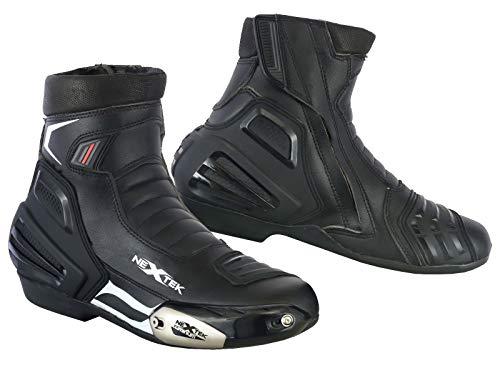 Motorrad Stiefel Rennschuhe Stylist Kurze Stiefeletten Motorrad Off Road Touring Schuhe wasserdicht gepanzert für Herren Jungen - Grobe UK 11 / EU 45