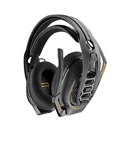 Plantronics RIG 800HD Binaural Bandeau Noir, Jaune-Écouteurs avec Microphone (PC/Jeux, Dolby Atmos, Binaural, Bandeau, Noir, Jaune, sans Fil)
