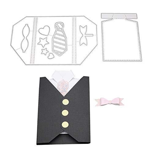 Lazzboy Fustelle Natale Scrapbooking Metallo Stencil Paper Card Craft per Sizzix Big Shot/Altre...