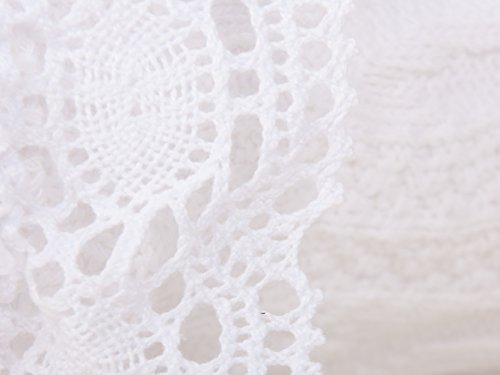 Trachtensocke mit Spitze in verschiedenen Farben und Größen (39-42, Weiß) - 3