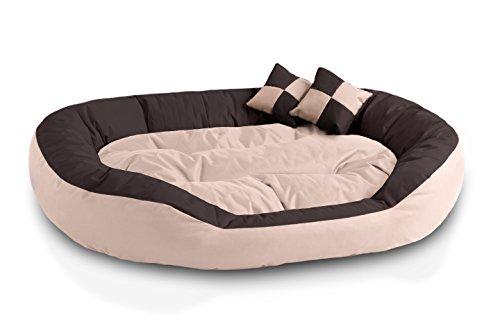 BedDog 4 in 1 letto per cane SABA L fino a XXXL, 7 colori a scelta, cuscino per cane, divano per...