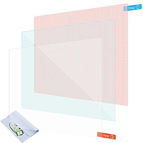 NAUC 2X Pellicola Protettiva Schermo 10.1Pollici Tablet Schermo Universal Display Antiriflesso
