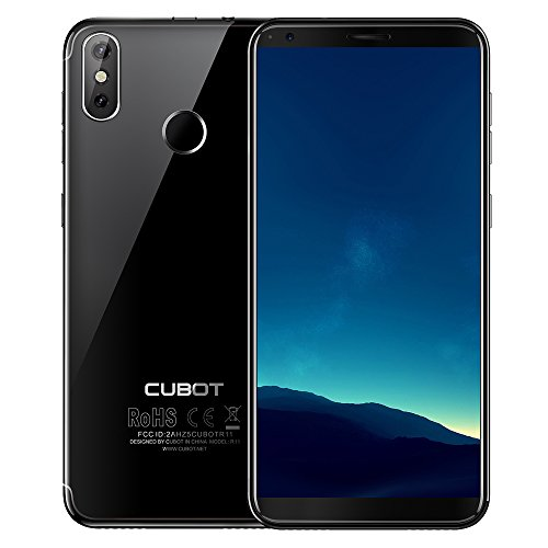 Cubot R11 Smartphone Android 8.1 Tutto Schermo 5.5 pollici Impronta Digitale Doppia Fotocamera Posteriore 3G WCDMA 2 GB + 16 GB