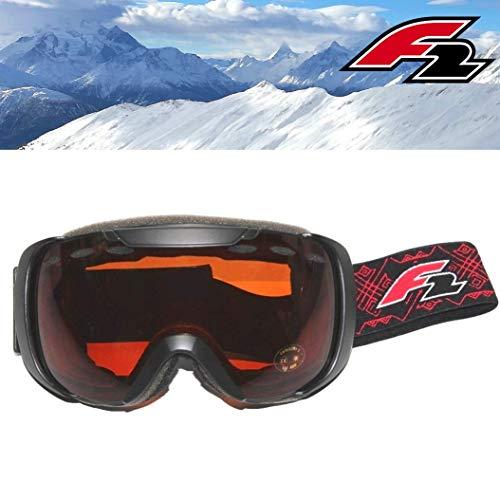 Sconosciuto F2Occhiali da Sci/Snowboard Occhiali Sportivi Occhiali da Neve 100% Protezione UV