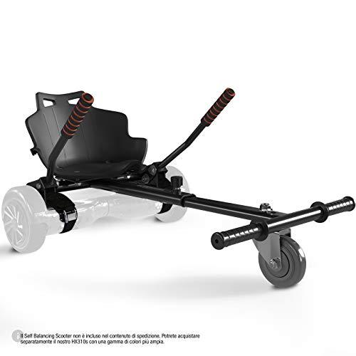 Sedia Kart HK200 Bluewheel per Skateboard Elettrico - Self Balance Scooter - Sedile prolungabile...