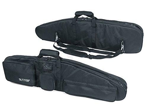 SUTTER Premium Doppel-Waffentasche 125x37cm - Gewehrtasche für Zwei Langwaffen mit Optiken Gewehrkoffer