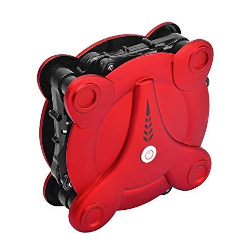 ILYO Mini drone e fotocamera adulti pieghevoli tasche marine drone velivoli ad altezza fissa con telecomando, vino rosso
