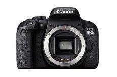 Canon EOS 800D - Cámara réflex de 24.2 MP (pantalla táctil de 3.0'', NFC, Dual Pixel CMOS AF, Bluetooth,45 puntos AF, 6 fps, Full HD, WiFi) negro - solo cuerpo