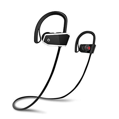 Cuffie Bluetooth Sport, Voberry Cuffie Wireless IPX7 Impermeabile Auricolari Bluetooth, AptX CVC 6.0...