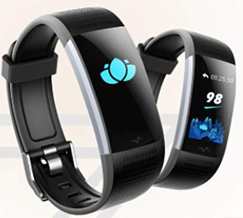 DKFJSKDL Braccialetto Sportivo Intelligente Controllo della frequenza cardiaca della Pressione...
